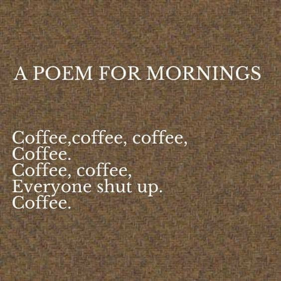 An Ode to Coffee - vCoffee